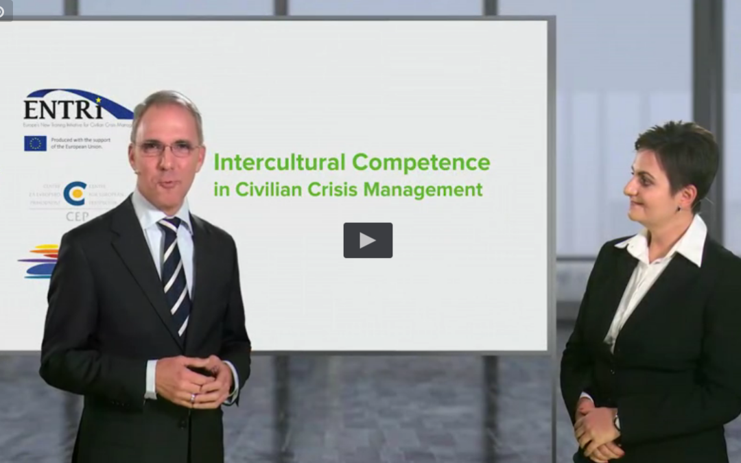 ENTRi e-learning module on Intercultural Competence in Civilian Crisis Management