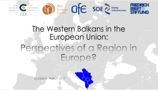 Watch Online: Perspectives for the Western Balkans in the EU, round table in Ljubljana