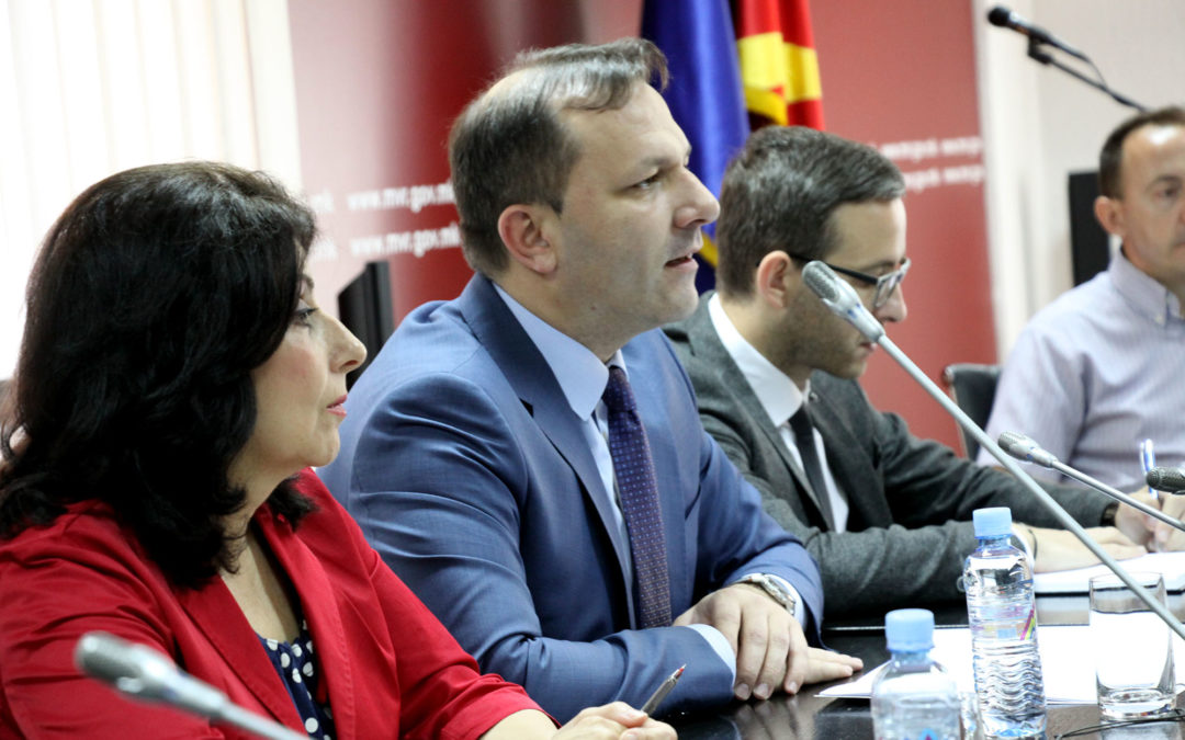 Slovenia's support discussed with Minister of Interior of the Republic of Macedonia Spasovski