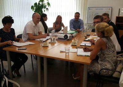 ROSE SB Members interrupted during 3rd Steering Board Meeting on 31 August 2017