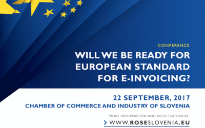 """Conference announcement: """"Will we be ready for European standard for eInvoicing?"""""""