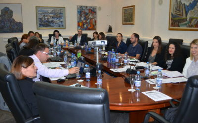 Experts from the Bank of Slovenia advise colleagues from Montenegro