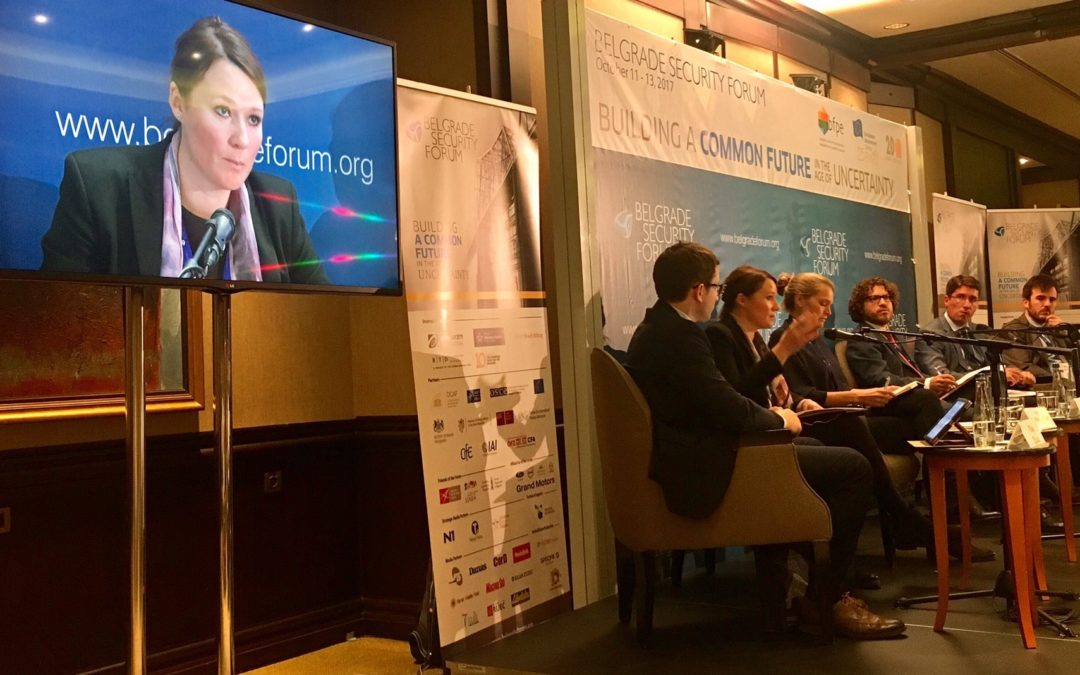 CEP at the Belgrade Security Forum