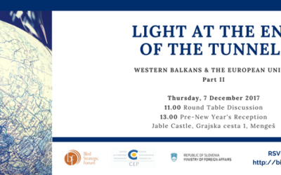 Light at the End of the Tunnel: Western Balkans & the European Union Part II
