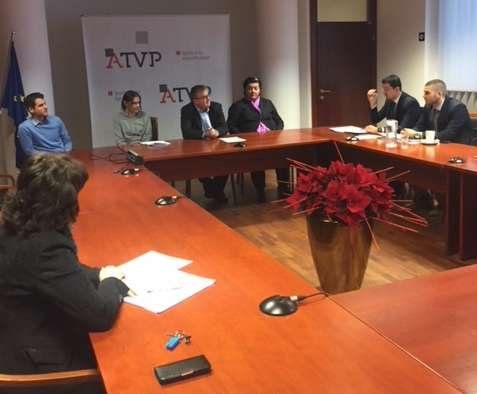 ATVP hosts a study visit of Montenegrin Securities and Exchange Commission