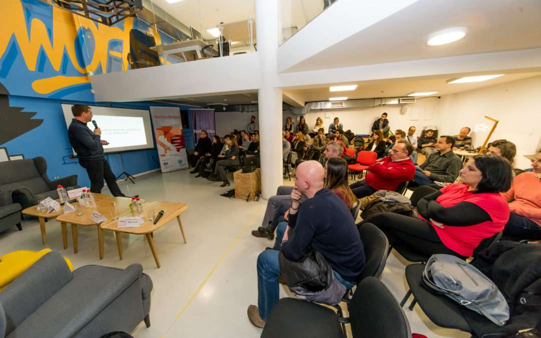 Start up caravan arrives to Sarajevo to empower young entrepreneurs