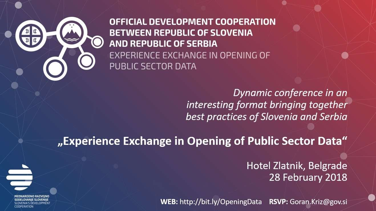Serbia & Opening of Data of Public Sector - CEP
