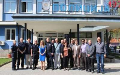 Field analysis on data exchange among organizational unites of the police in Serbia successfully concluded
