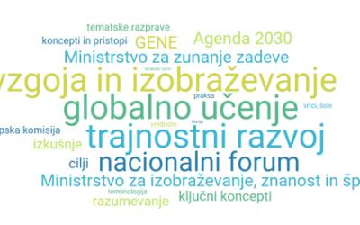 Nacionalni forum o globalnem učenju ter vzgoji in izobraževanju za trajnostni razvoj