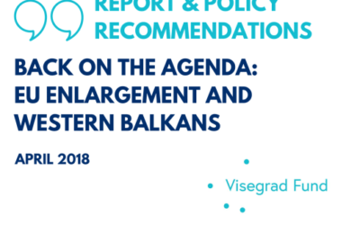 REPORT AVAILABLE: Back on the Agenda: EU Enlargement – Policy Recommendation