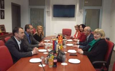 Strengthening development cooperation of the State Prosecutor Generals of Slovenia and Macedonia
