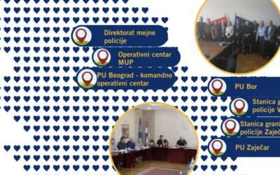 The flow of information in illegal migrations subject of the workshop for the Ministry of Interior of the Republic of Serbia