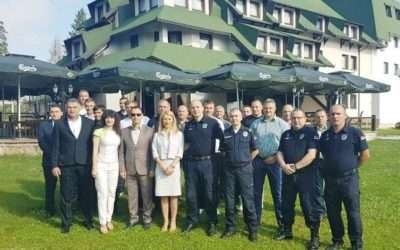 Support of Slovenia to the Ministry of Interior of the Republic of Serbia with its flow of information in illegal migrations