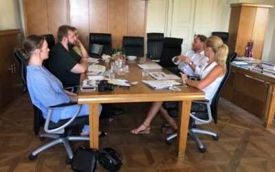 MP of Baden-Württemberg Mr Meier's makes first Danube journey stop in Slovenia