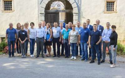 1st day of the international study visit of representatives of Ukrainian local and regional authorities in Slovenia