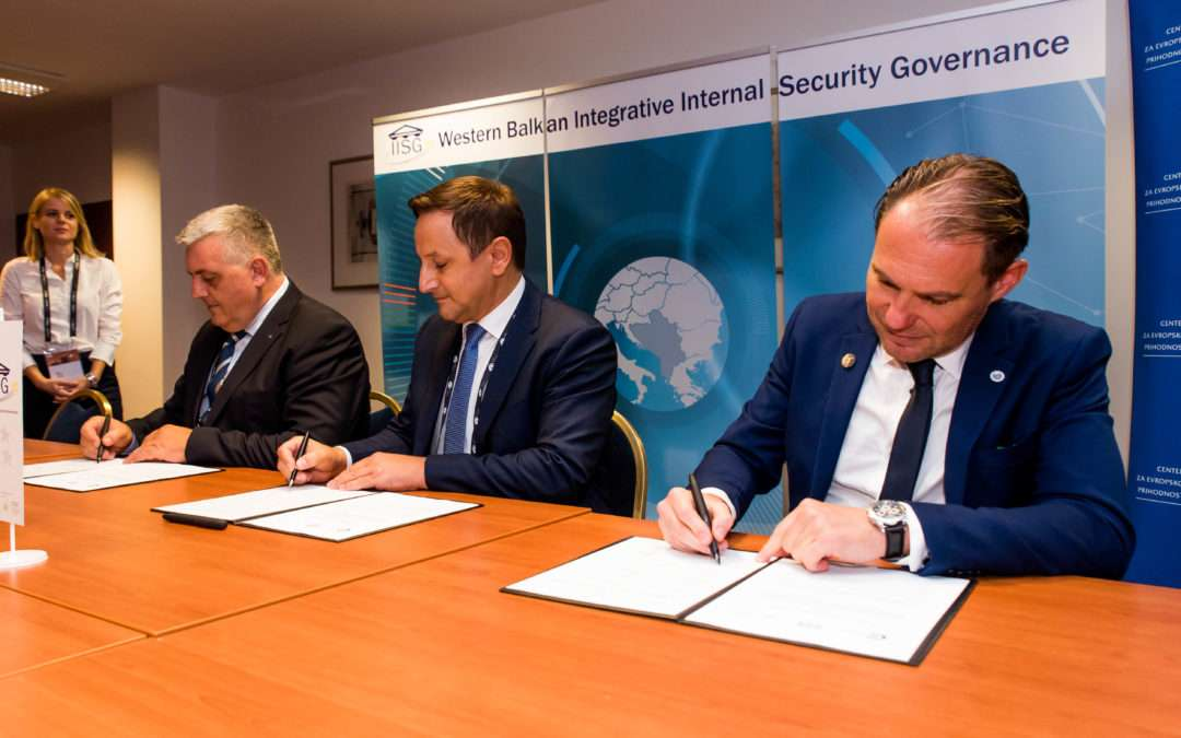 CEP, DCAF and IISG signed Memorandum of Understanding for tighter cooperation