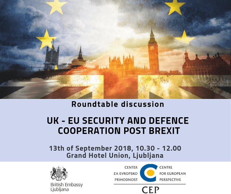Round table discussion invitation: UK – EU Security and Defence Cooperation post Brexit