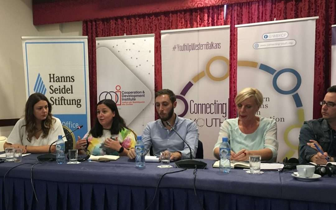 "CEP at 1st ""Voice Up"" Western Balkans Youth Forum"