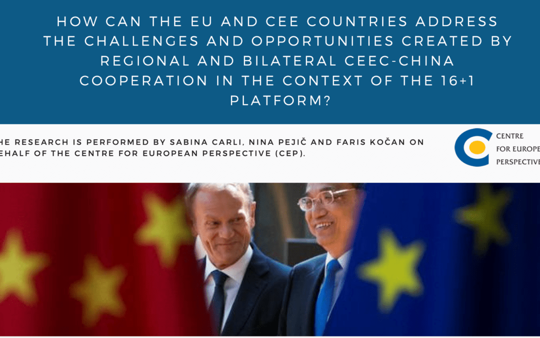 4 scenarios for the future of CEEC-China relations developed in the framework of THINK Initiative