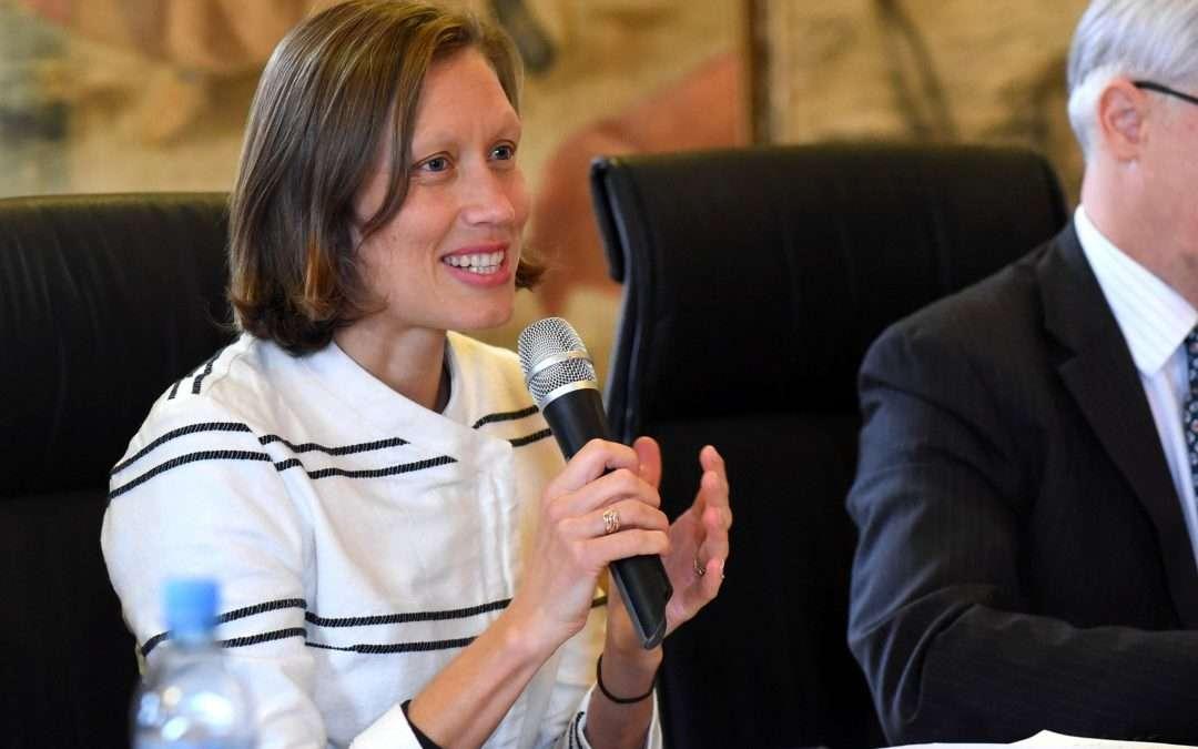 New Director Ms Katja Geršak takes the office