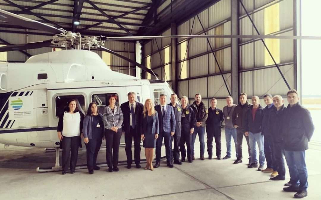 Slovenia cooperates with Montenegro in strengthening the capacity of the Avio-Helicopter Unit of the Ministry of Interior of Montenegro
