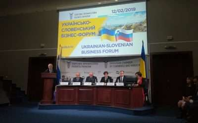 CEP is participating at the opening of the Ukrainian-Slovenian Business Forum /  CEP prisoten na ukrajinsko-slovenskem poslovnem forumu v Kijevu