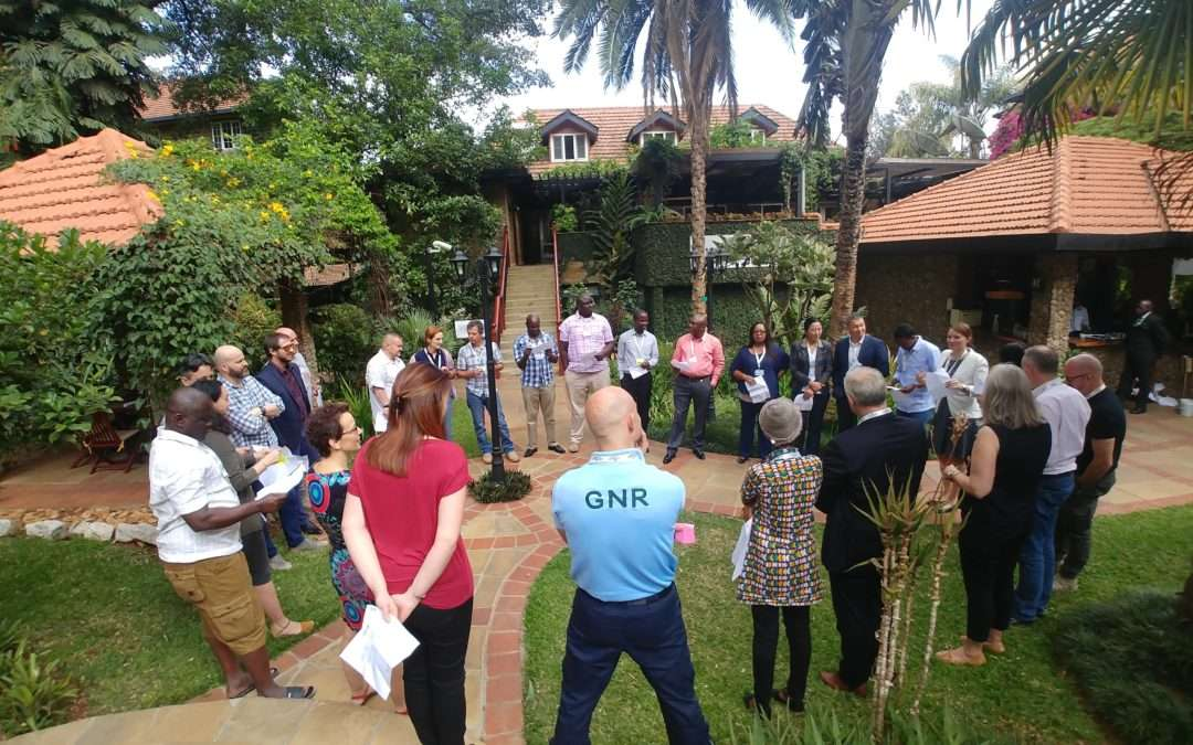 Training on mentoring in civilian crisis management successfully concluded in Kenya