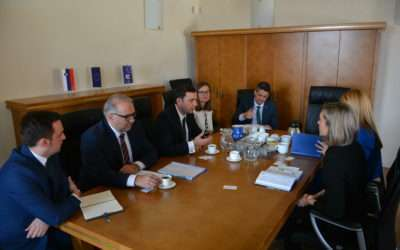 Deputy Prime Minister of the Republic of North Macedonia Bujar Osmani visit to CEP