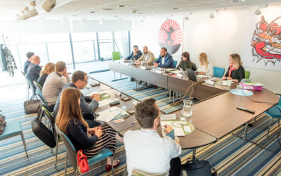EDDE Steering Board Members Join Forces in Brussels for the First Time