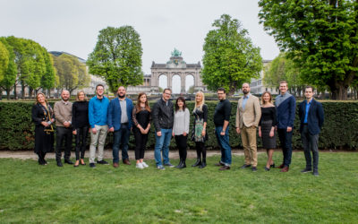The First EDDE Steering Board Meeting Took Off in Brussels