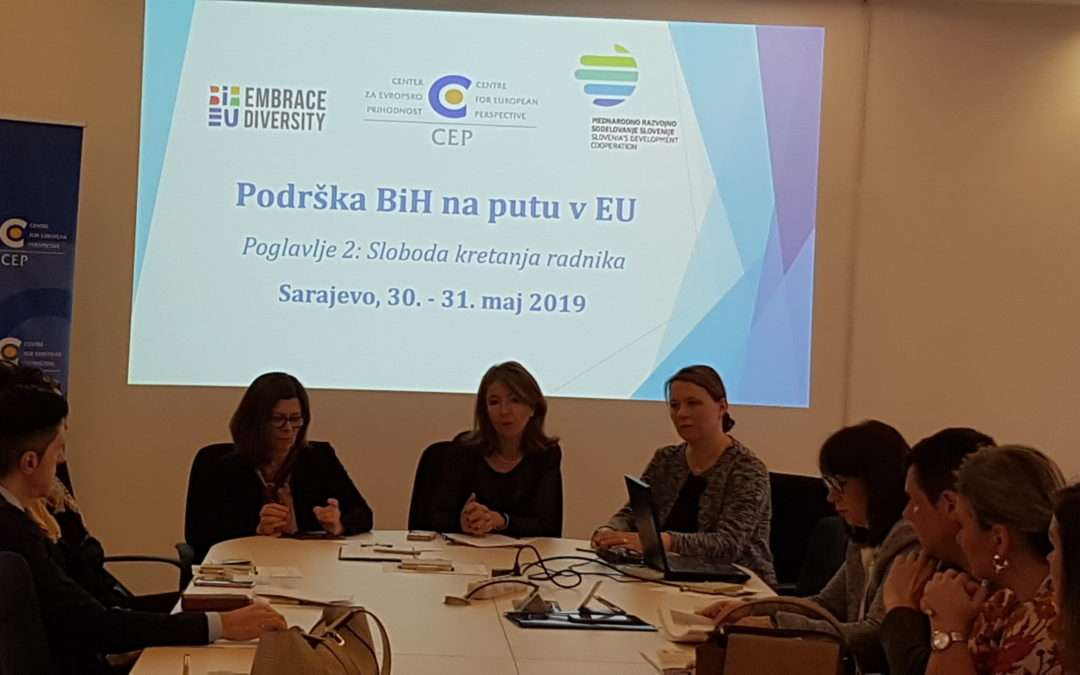 CEP training for BiH civil servants focused on freedom of movement for workers