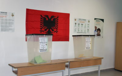 "Press release: ""Strengthening the Transparency of Electoral Bodies, Exchange of Experiences Between Albania and Slovenia 2019-20"""