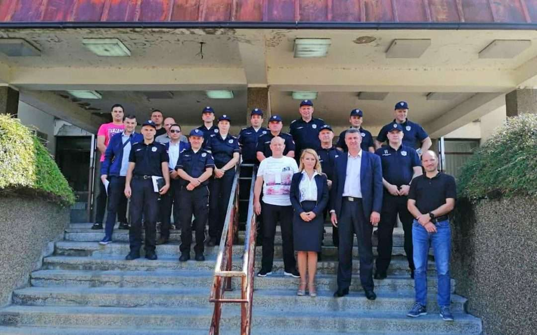 Press release: Field analysis on management of police patrols in Serbia successfully conducted