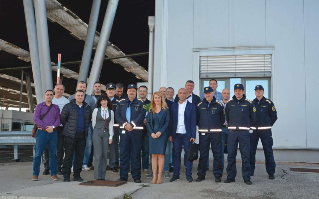Press release: Study visit of Serbian representatives to Slovenia on patrol management successfully completed