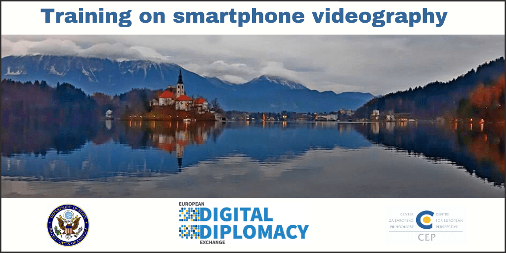 European Digital Diplomacy Exchange Training begins at Bled