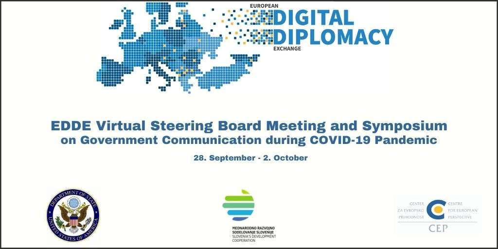 ANNOUNCEMENT: European Digital Diplomacy Exchange Steering Board and Symposium on Government Communication during COVID-19 Pandemic