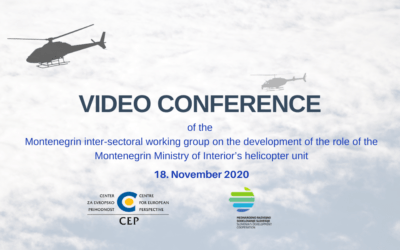 Montenegro strengthens the capacity and role of helicopter operations with the help of Slovenia