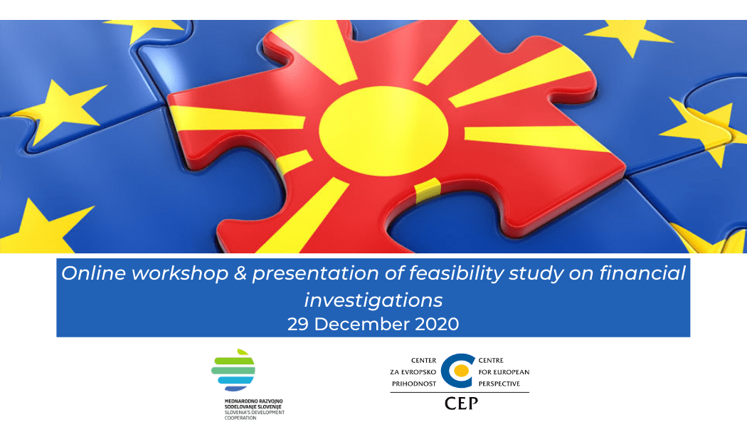 End of 2020 active for strengthening the capacities for financial investigations in North Macedonia