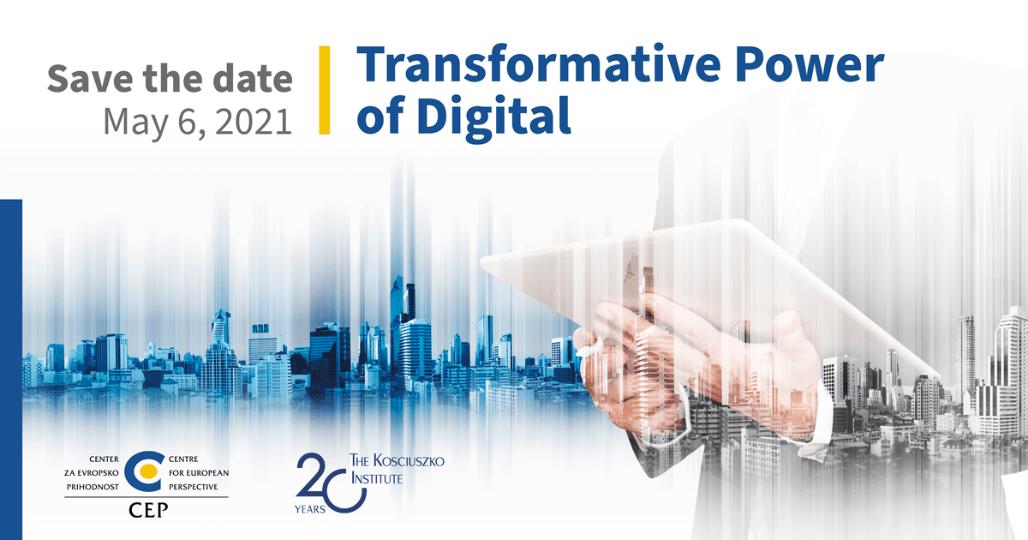 Coming soon! Transformative Power of Digital