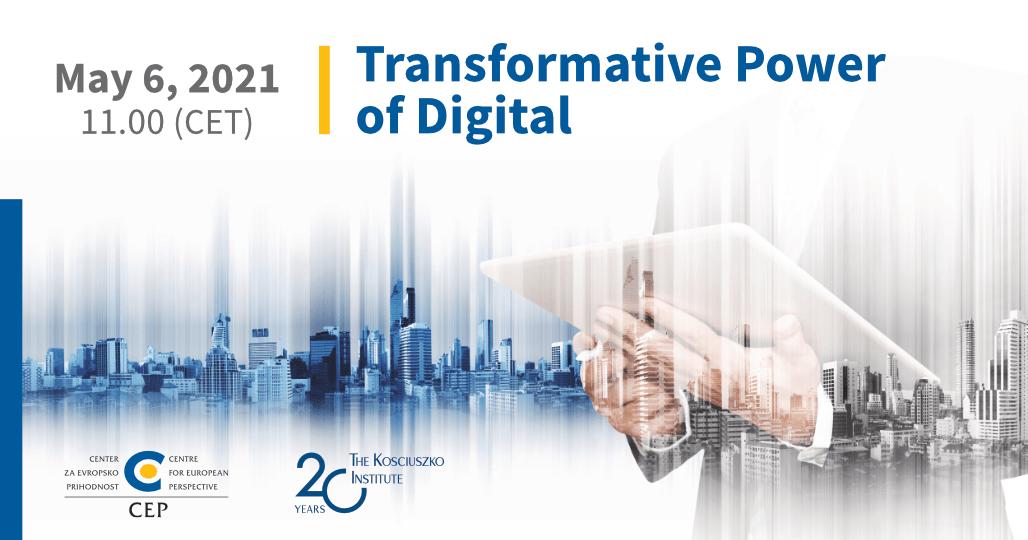 Transformative Power of Digital– May 6, 2021