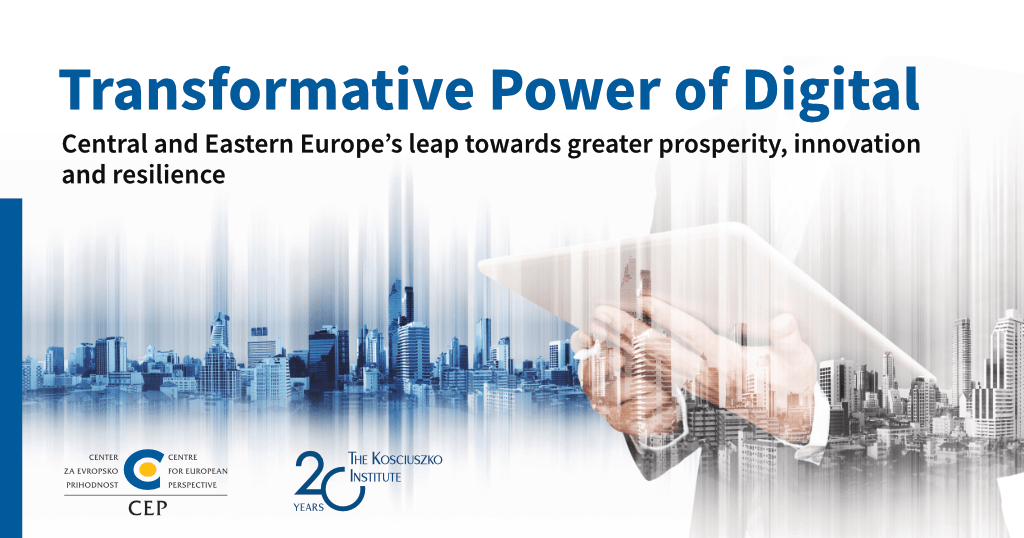 [Joint Report] Transformative Power of Digital: Central and Eastern Europe's leap towards greater prosperity, innovation and resilience