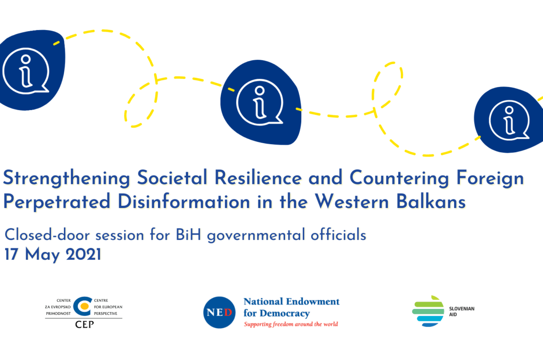 First online closed-door session for BiH governmental officials successfully concludes