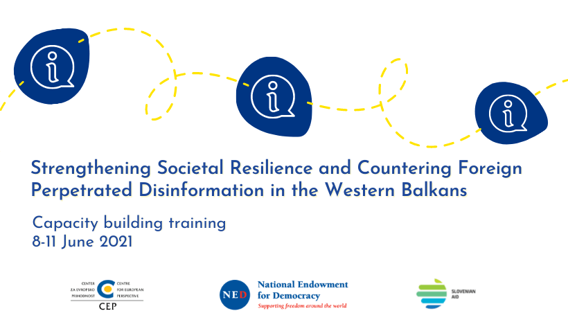 Announcing: Three-day training for enhancing resilience in Western Balkans
