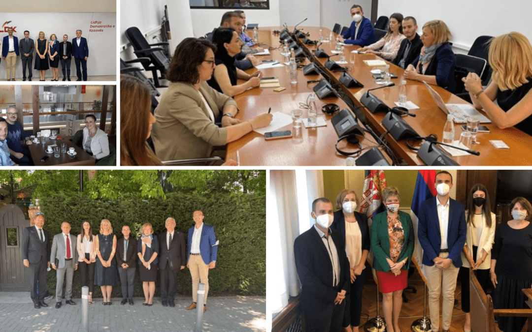 IDSCS coordinated study visits by the Visegrad Group researchers to the Western Balkans capitals