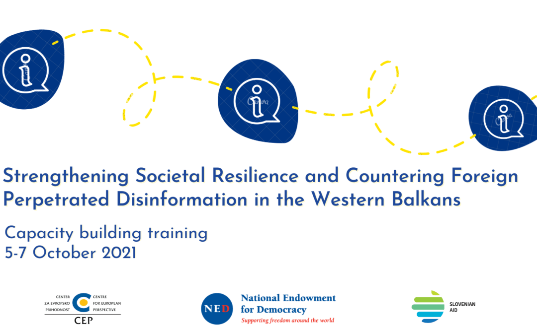 Second capacity-building training on countering disinformation begins next week