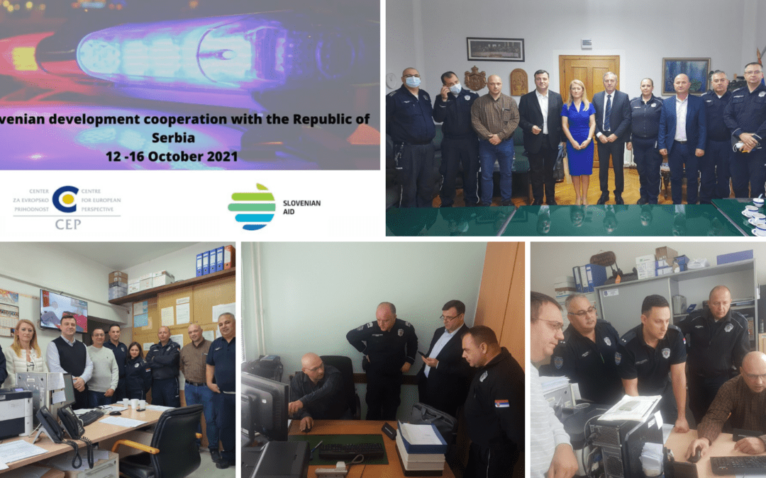 Field visit to support the development of a patrol management system in Serbia
